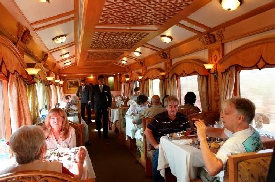 Deccan Odyssey Restaurant