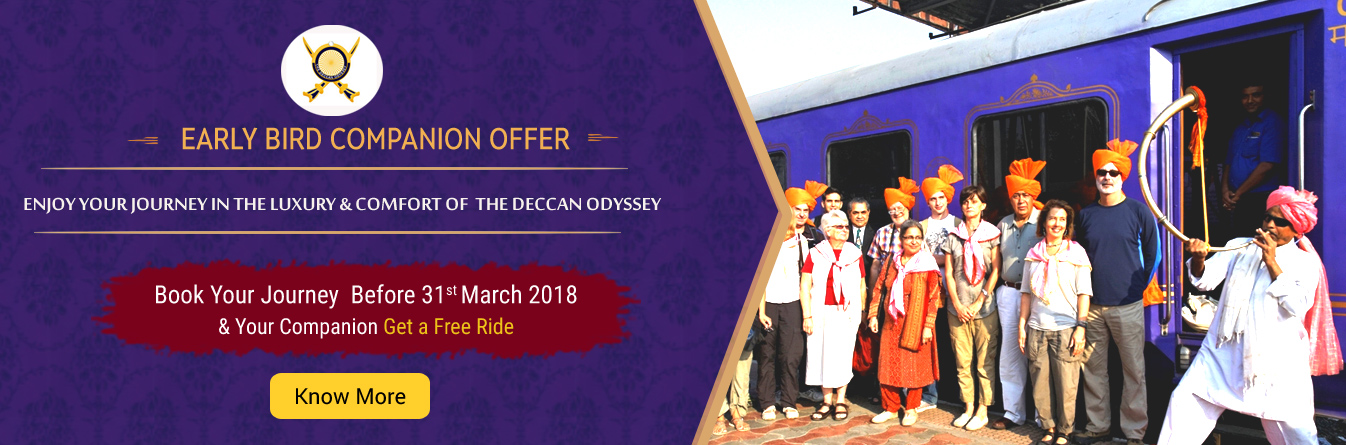 Deccan Odyssey Early Bird Offer