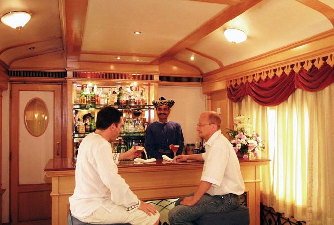 Deccan Odyssey Train Bar