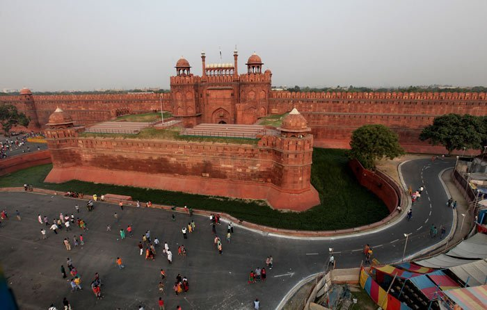 The Shape of Red Fort