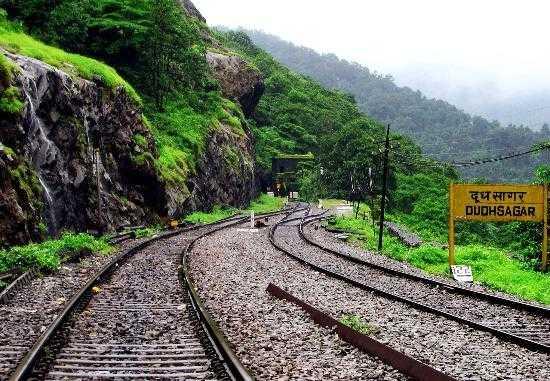 Dudhsagar Railway Station, Goa