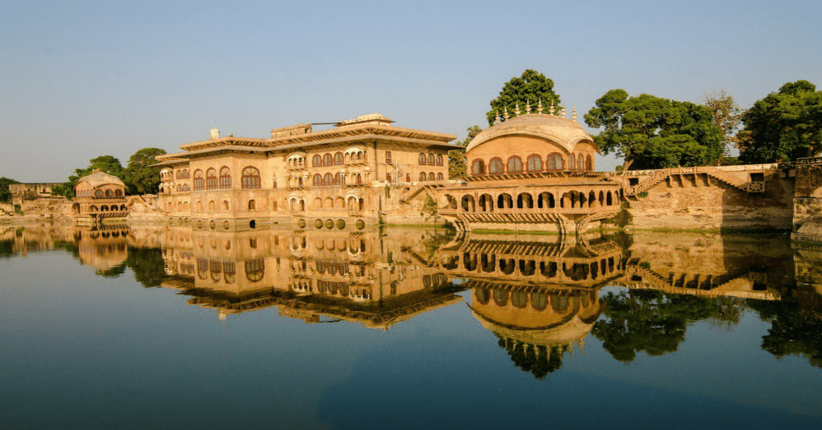 Deeg Palace in Bharatpur